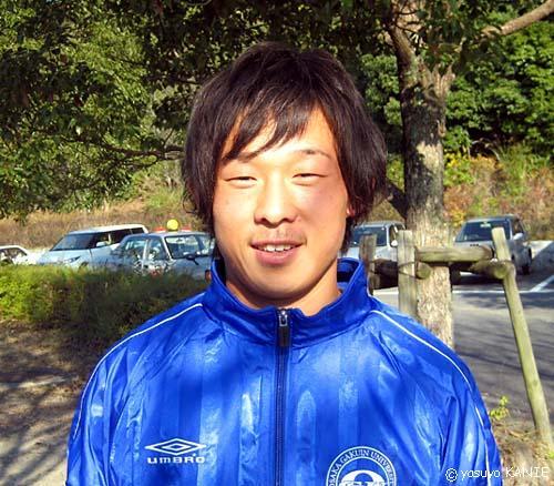 畑中俊逸: 関西学生サッカー:選...