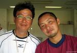 康トレーナーと岡田翔太郎