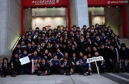 優勝おめでとう!関西学院大学サッカー部